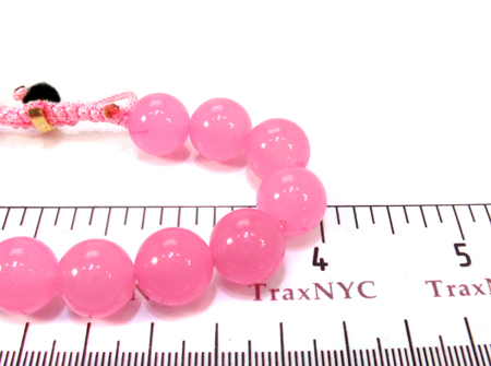 Blush Bead Ball Bracelet Silver