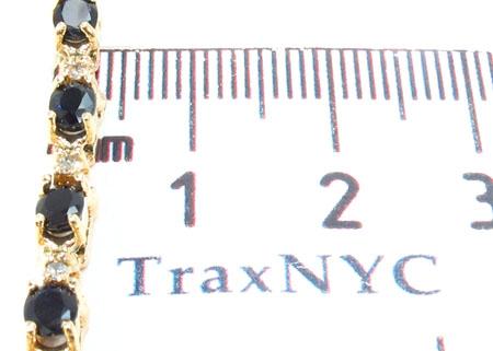 Sapphire Diamond Bracelet 30617 Gemstone & Pearl
