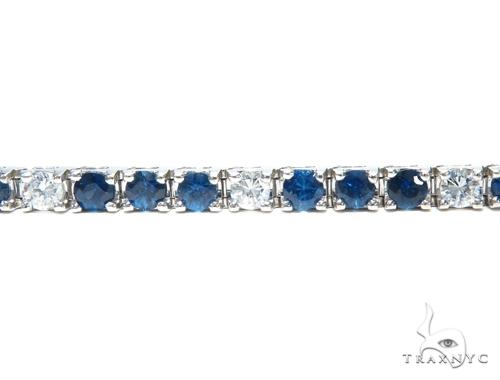 Sapphire & Diamond Bracelet 41876 Gemstone & Pearl