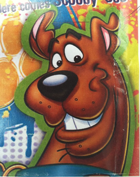 Scooby Doo Custom Pendant Metal