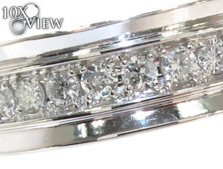 Semi Iced Princess Ring Stone