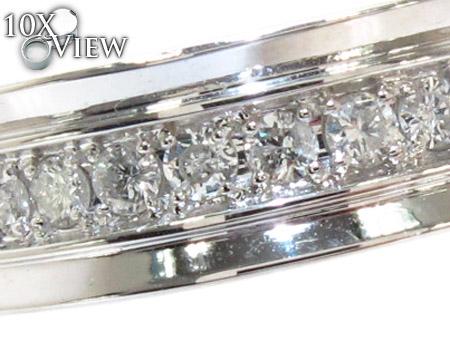 Semi Iced Princess Ring Stone