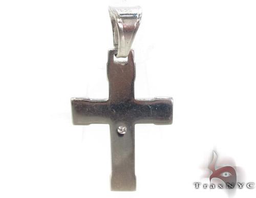 Silver Jesus Cross 34497 Silver