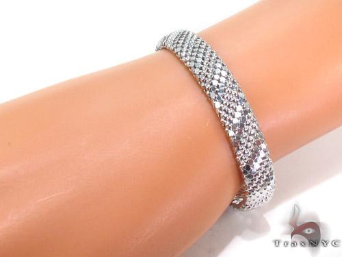 Silver Bracelet 34468 Silver & Stainless Steel