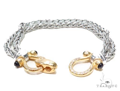 Silver Bracelet 43027 Silver & Stainless Steel