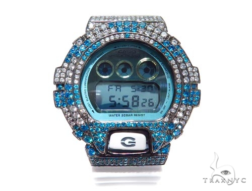 Silver Case Casio G-Shock Watch DW6900PL-7 43187 G-Shock