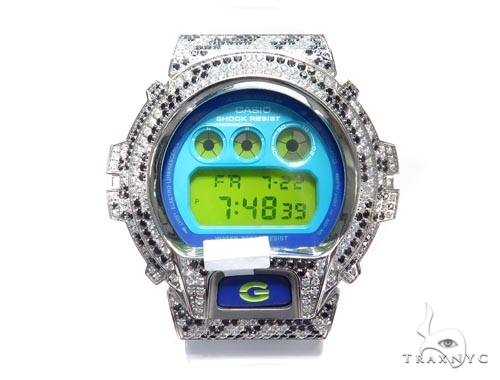 Silver Case Casio G-Shock Watch DW6900PL-7 43189 G-Shock