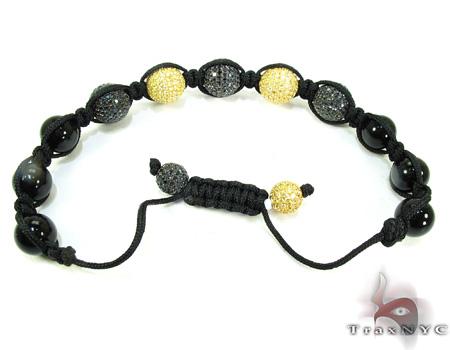 Silver Crystal Rope Bracelet 27797 Silver & Stainless Steel