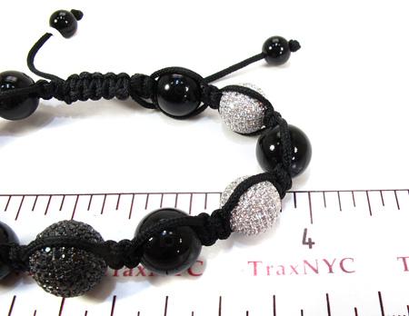 Silver Crystal Rope Bracelet 27799 Silver & Stainless Steel