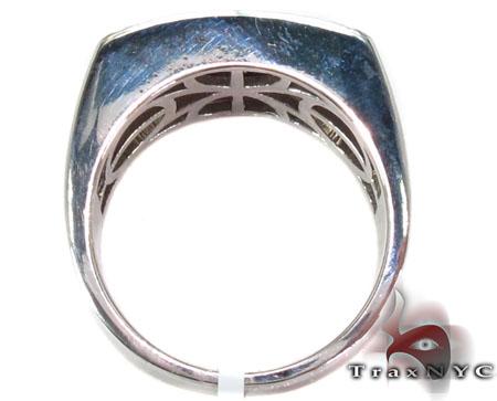 Silver Diamond Ring Metal