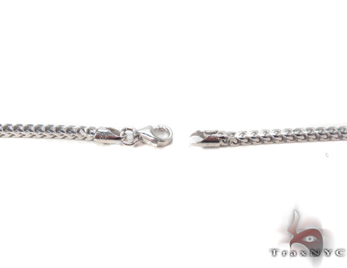 Silver Franco Chain 30 Inches, 3mm, 22.1Grams Silver