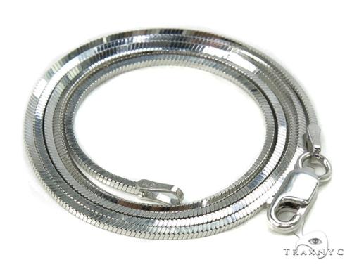 Silver Necklace 39474 Silver