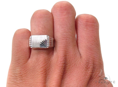Silver Ring 36822 Metal