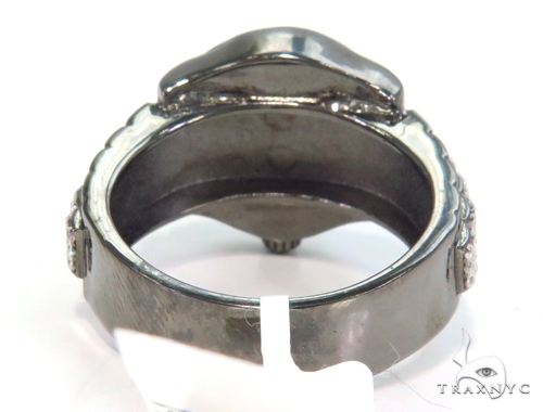 Crown Silver Ring 45091 Metal