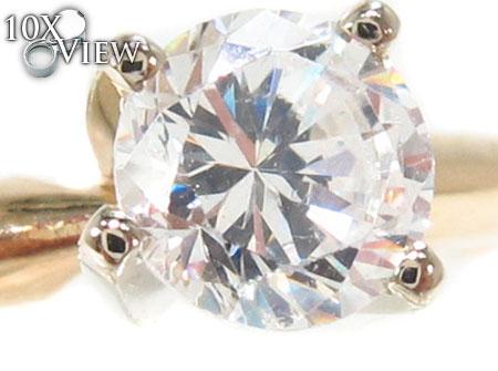 Solitair Diamond Ring 32908 Engagement