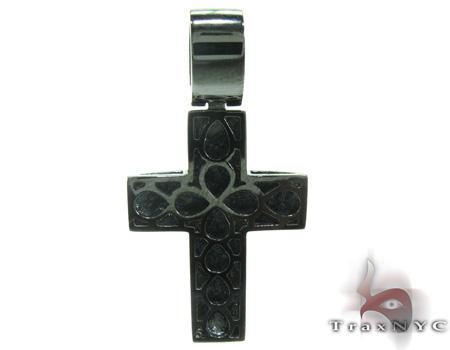 Stainless Steel Diamond Cross 20364 Diamond