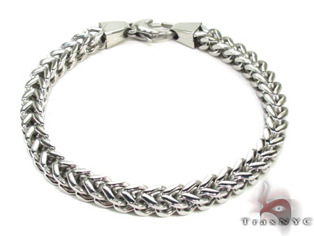 Stainless Steel Franco Bracelet 27804 Stainless Steel