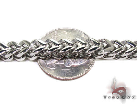 Stainless Steel Franco Bracelet 27804 Stainless Steel