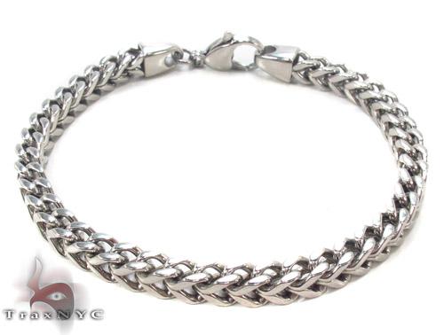 Stainless Steel Franco Bracelet 33812 Stainless Steel
