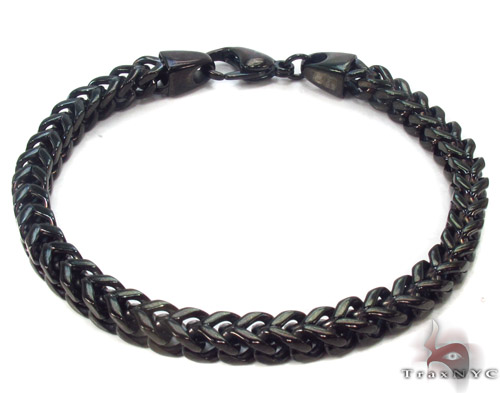 Stainless Steel Franco Bracelet 33814 Stainless Steel