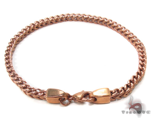 Stainless Steel Franco Bracelet 33817 Stainless Steel