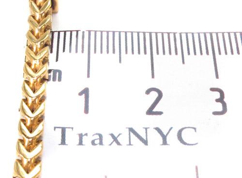 Stainless Steel Franco Bracelet 33816 Stainless Steel
