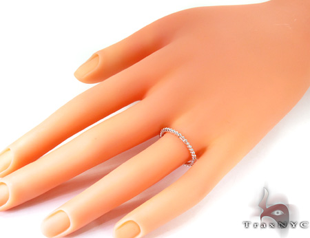 Stardust White Gold Ring 2 Anniversary/Fashion