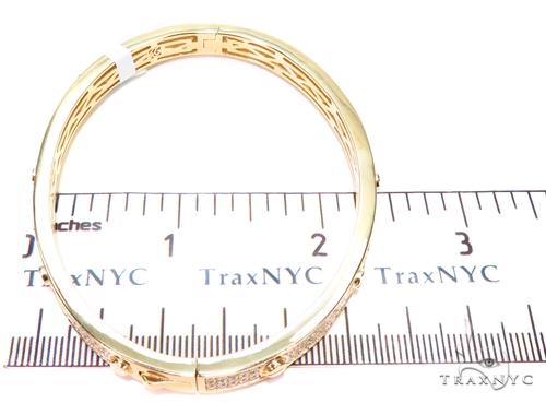 Sterling Silver Bangle Bracelet 41121 Silver