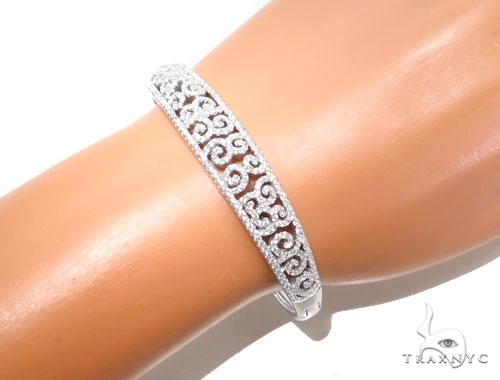 Sterling Silver Bracelet 41078 Silver & Stainless Steel