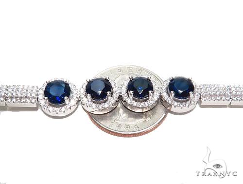Sterling Silver Bracelet 41085 Silver & Stainless Steel