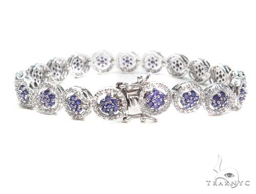 Sterling Silver Bracelet 41091 Silver & Stainless Steel