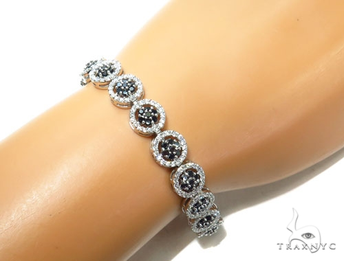 Sterling Silver Bracelet 41207 Silver & Stainless Steel