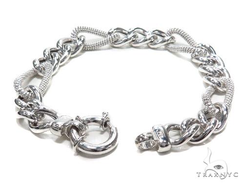 Sterling Silver Bracelet 42669 Silver