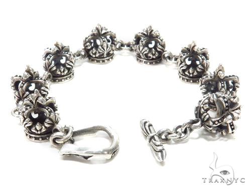 Sterling Silver Bracelet 43158 Silver