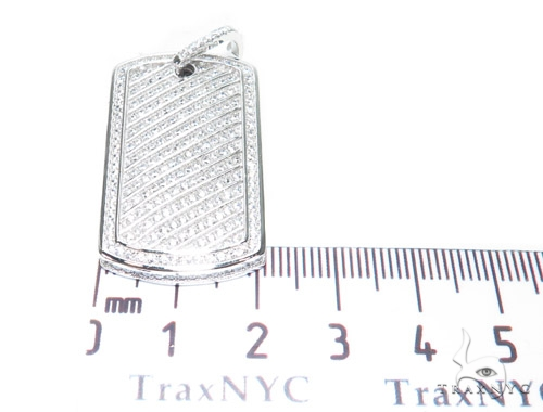 Sterling Silver Dog Tag Pendant 42860 Metal