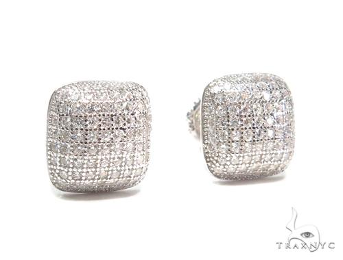 Sterling Silver Earrings 41109 Metal