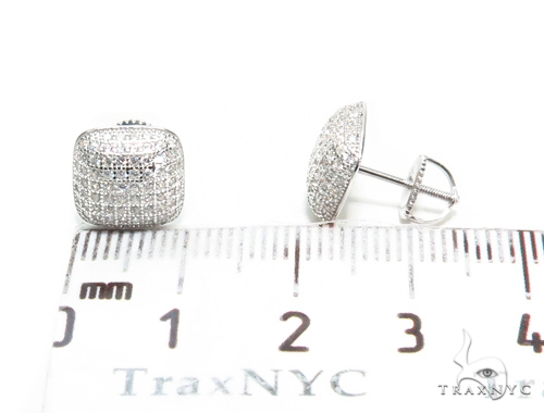Sterling Silver Earrings 41109 Metal