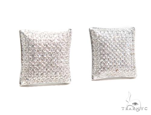 Sterling Silver Earrings 41113 Metal