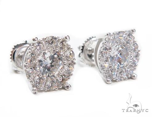 Sterling Silver Earrings 41271 Metal