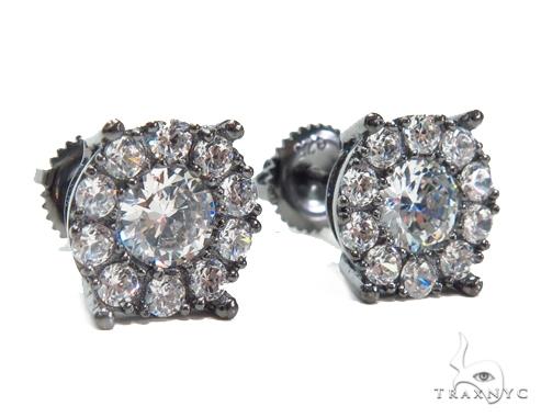 Sterling Silver Earrings 41273 Metal