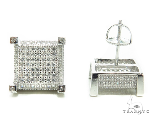Sterling Silver Earrings 41279 Metal