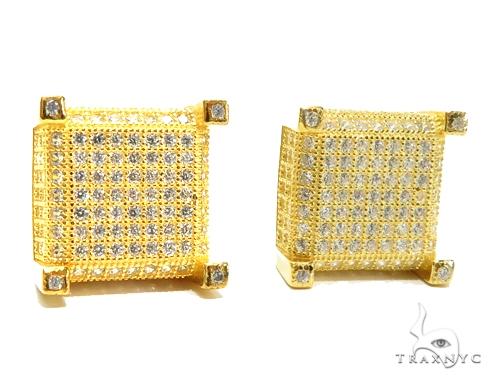 Sterling Silver Earrings 41280 Metal