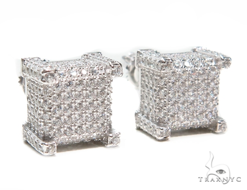 Sterling Silver Earrings 41283 Metal
