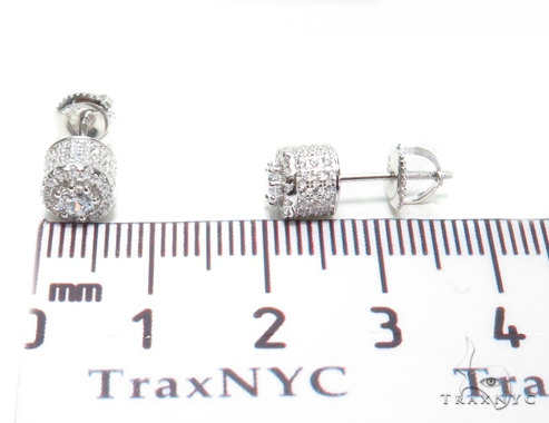 Sterling Silver Earrings 41287 Metal