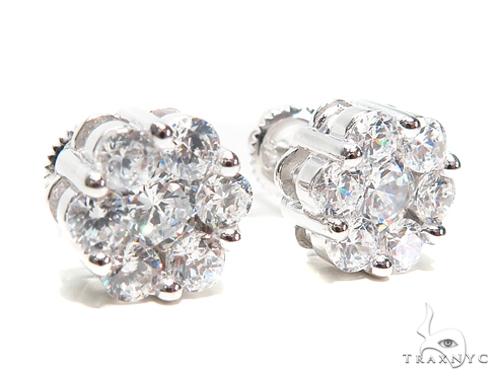 Sterling Silver Earrings 41294 Metal