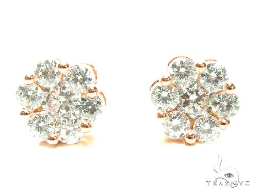 Sterling Silver Earrings 41296 Metal