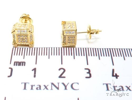 Sterling Silver Earrings 41298 Metal