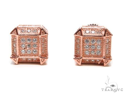 Sterling Silver Earrings 41299 Metal