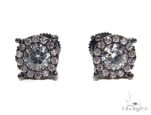 Sterling Silver Earrings 41301 Metal