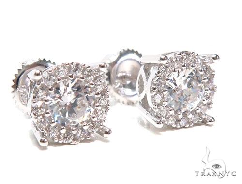Sterling Silver Earrings 41302 Metal